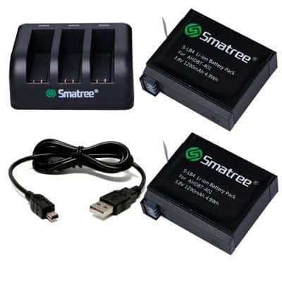 baterías compatibles con gopro hero 4 silver