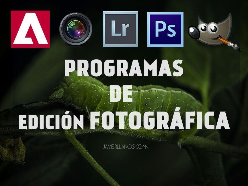 Programas para editar fotos