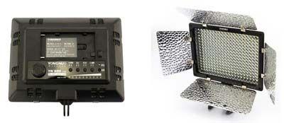 iluminación contínua para cámara réflex digital