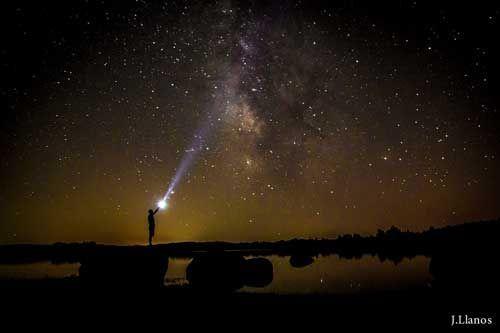 linternas fotografía nocturna