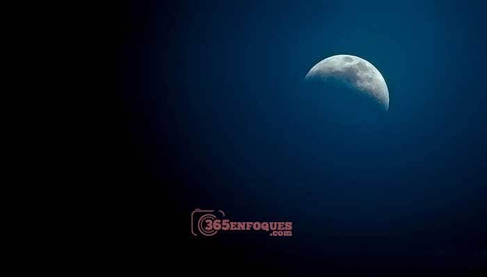 objetivo para fotografiar la luna