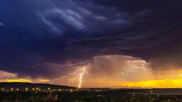 como fotografiar tormentas