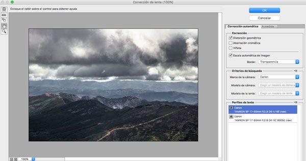 arreglar lineas torcidas en las fotos