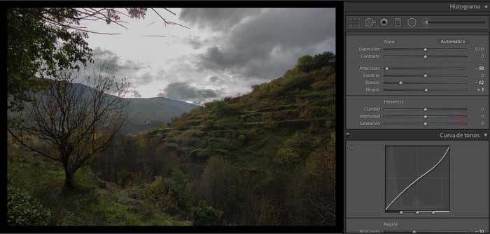 personalizar lightroom presets