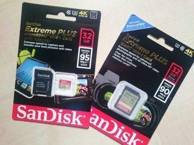 tarjetas de memoria para grabar en 4k