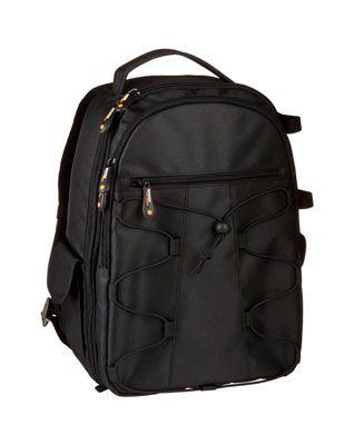 mochila de fotografía AmazonBasics
