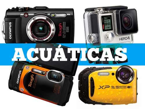cámaras resistentes al agua recomendadas