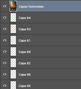 combinar todas las capas en photoshop cc atajo