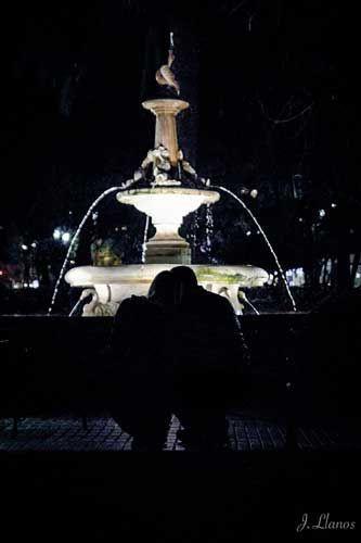 fotografía callejera nocturna