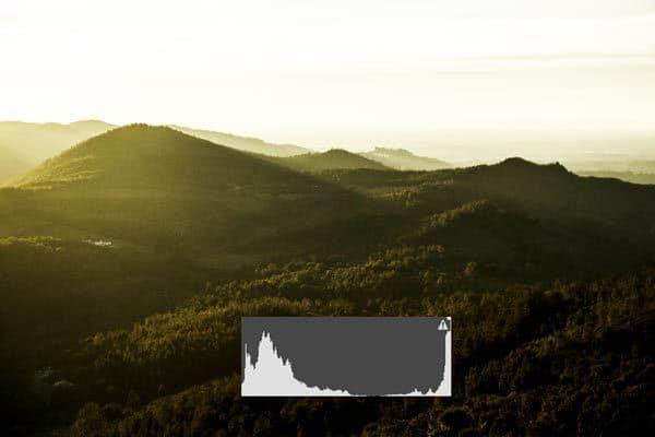cómo utilizar el histograma en fotografía