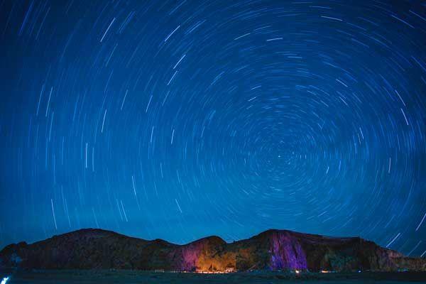 como fotografiar el movimiento de las estrellas