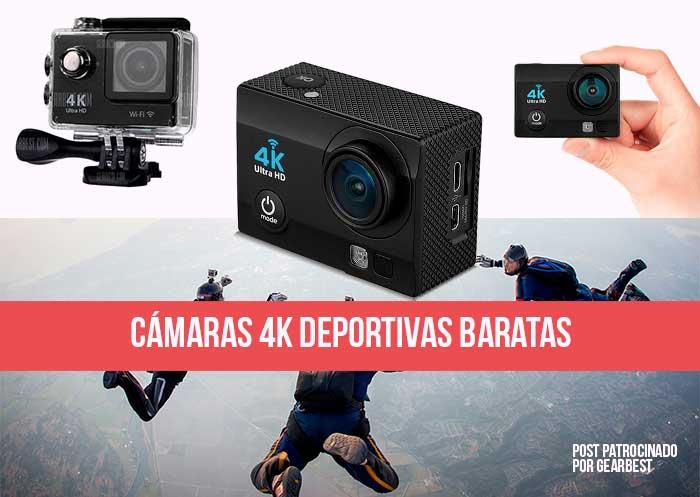 C maras 4k baratas deportivas los 4 modelos m s recomendados for Camaras de vigilancia baratas