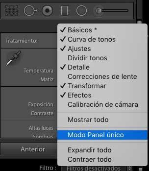 ajustes lightroom recomendados