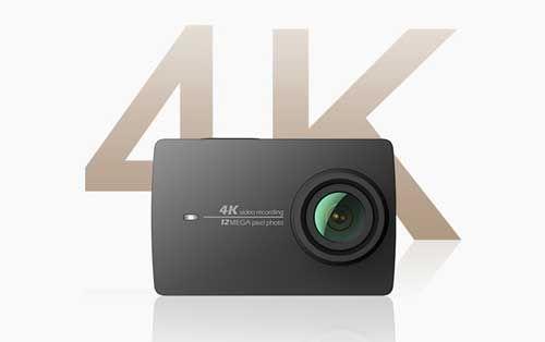 cámara de acción de xiaomi yi