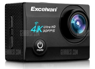 review de la cámara deportiva Excelvan Q8 4K
