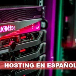 mejor hosting español 2018
