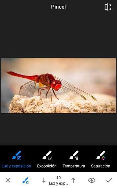 editar fotografías en Android