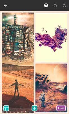 hacer un collage con fotos en el móvil