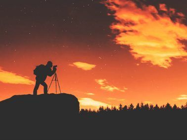 Trípode para cámara Canon