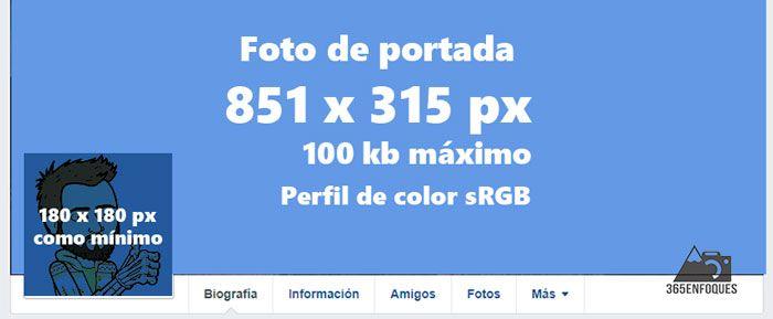 tamaño de fotos para facebook dimensiones actualizadas para 2018