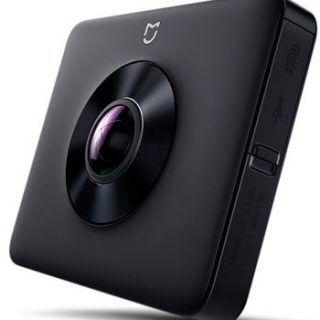 cámara para grabar vídeos de realidad virtual 360º