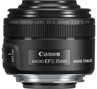 objetivo de canon macro con flash