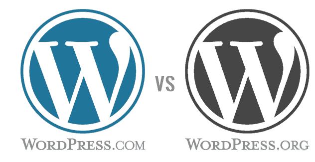 qué diferencia hay entre wordpress.org y wordpress.com