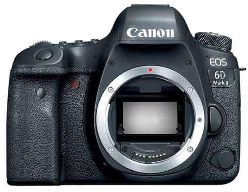 Especificaciones de la Canon 6D Mark II