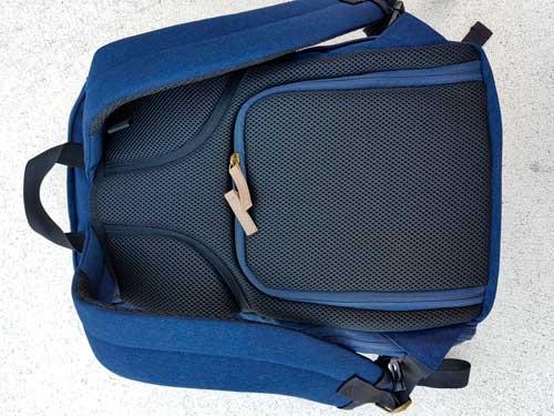 mochila fotográfica moderna