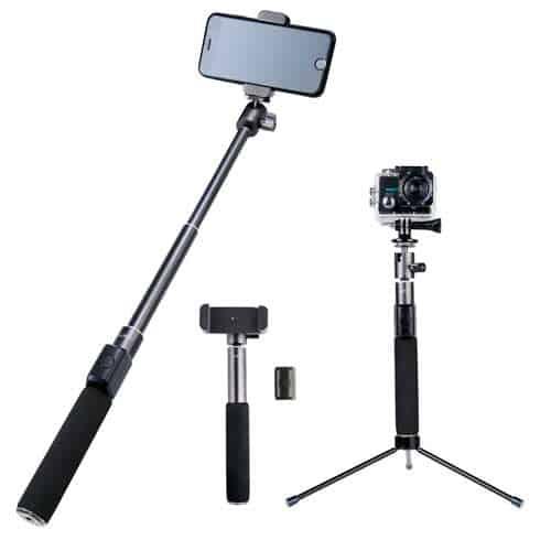 palo selfie que se convierte en trípode