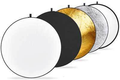 reflectores baratos de fotografía
