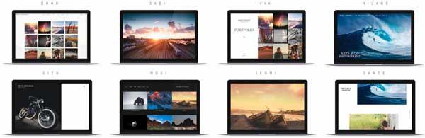 crear un portfolio de fotografía