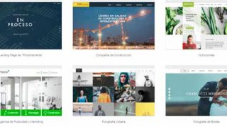 crear una página web para fotógrafos