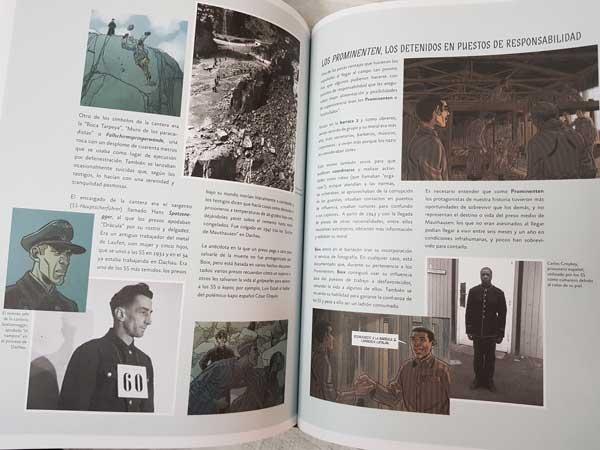 Cómic sobre campos de concentración