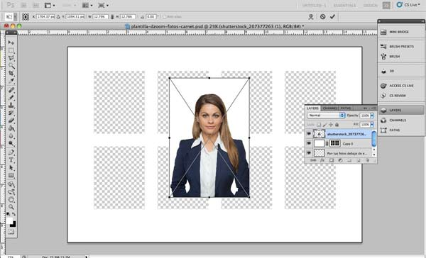 tamaño de las fotos para el pasaporte