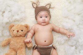 fotografía de un bebé chino