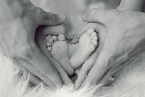 imagen de los pies de un bebé