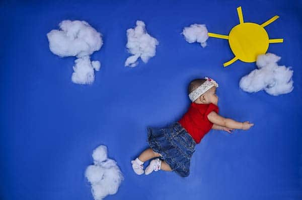 fotografía de un niño artística