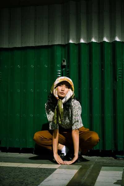 modelo mujer posando para una fotografía