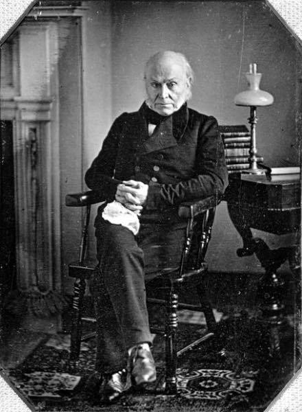 fotografía de John Quincy Adams