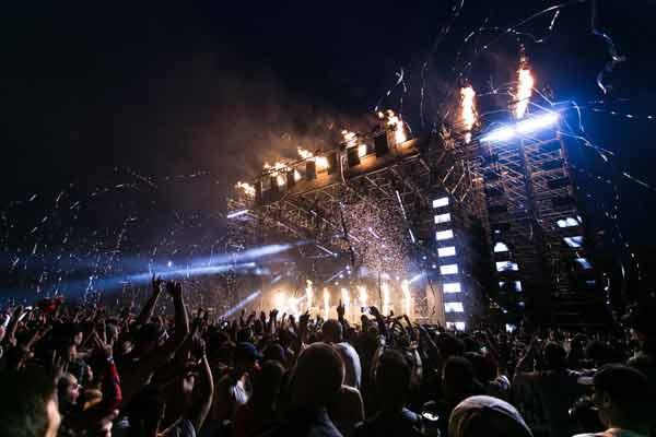 fotografía de un concierto