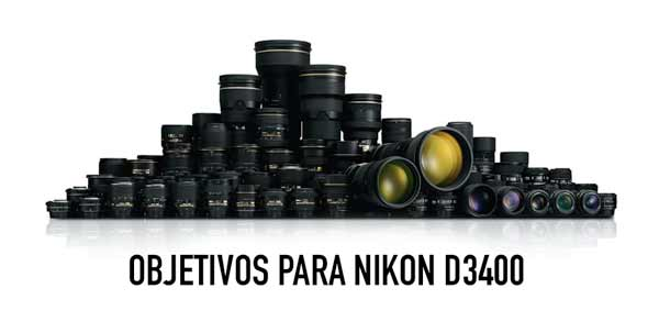 mejores lentes para cámara Nikon d3400
