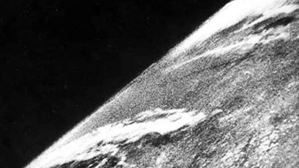 primera foto espacial
