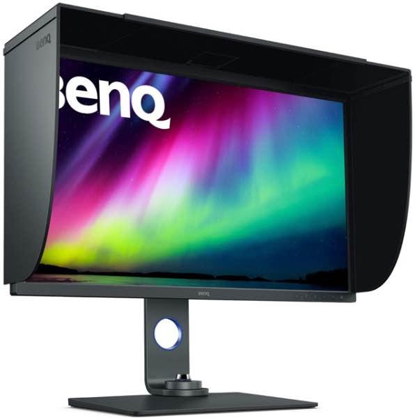 Monitor BenQ SW321C PhotoVue con una fotografía en la pantalla