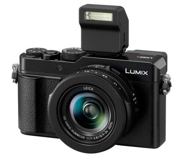 cámara compacta con flash Panasonic lx 100